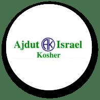Sello de Ajdut Israel Kosher