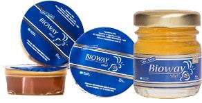Potes de miel Ceta en distintos tamaños para gastronomía.
