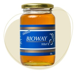 All-flowers honey jar