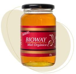 Organic all-flowers honey jar
