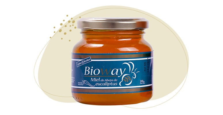 Eucaliptus tree ONE-FLOWER honey jar