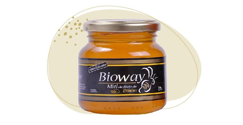 Lemon tree ONE-FLOWER honey jar